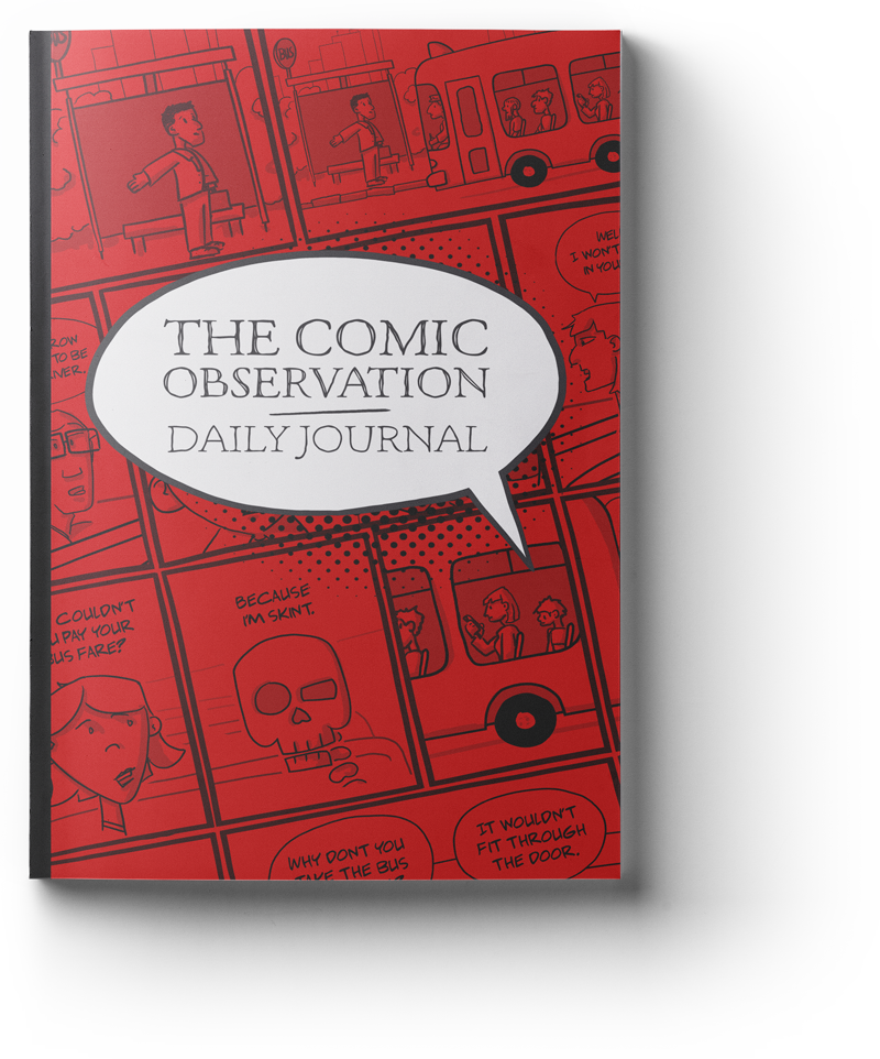 Book Cover Design and Illustration - Comic Journal