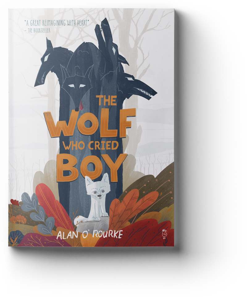 The Wolf Who cried Boy - Middle Grade Cover Illustration