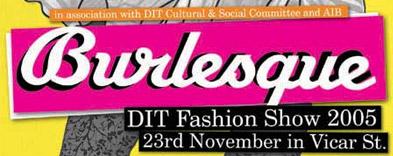 Burlesque - DIT Fashion Show