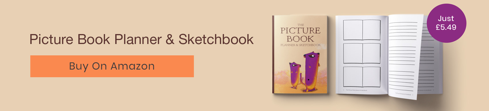 Picture Book Planner and Sketchbook - Alan O'Rourke