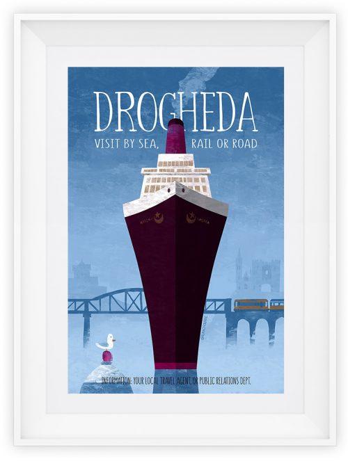Visit Drogheda Art Print