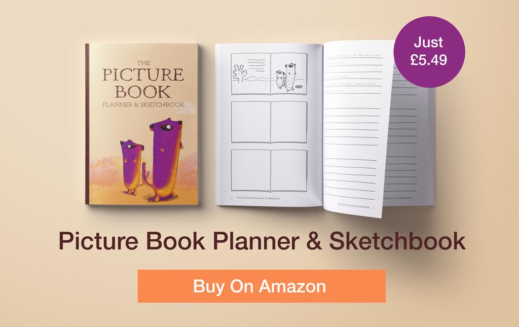 picture book-planner-sketchbook-thumbnails