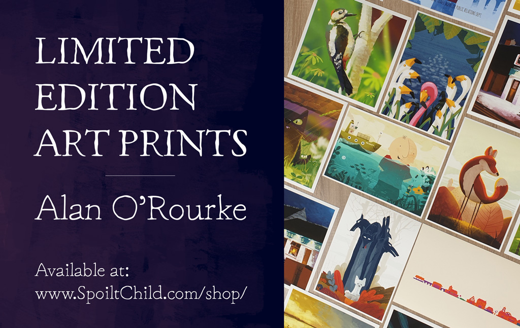 Art-Prints-Alan-ORourke-landscape